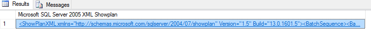 showplan options - set showplan_xml